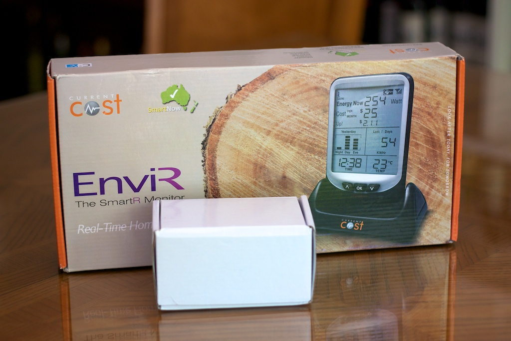 Google Power Meter in Australia – SmartNow EnviR power meter arrived