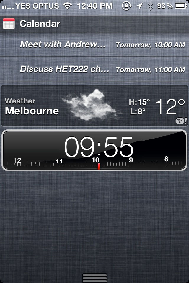 Apple: please add timers to notification centre