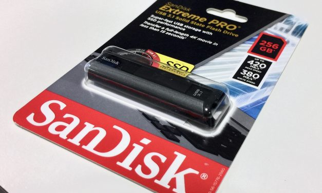 SanDisk 256GB Extreme Pro USB 3.1 – Quick benchmark and comparison to older extreme USB 3.0 drive