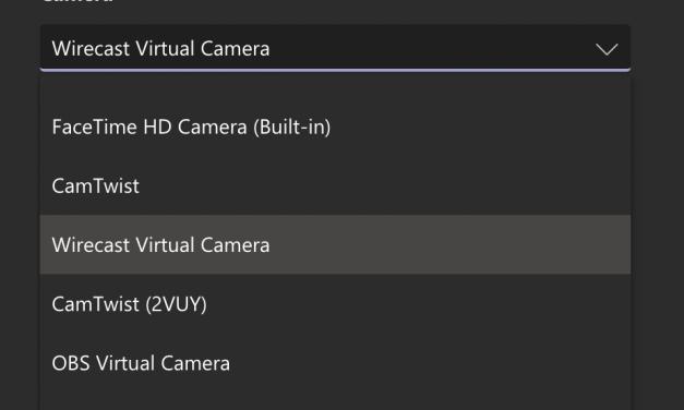 Fix Microsoft Teams to enable virtual webcams ON MAC